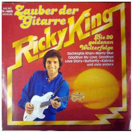 RICKY KING ZAUBER DER GITARRE 1979 LP.
