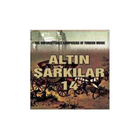ALTIN ŞARKILAR 14 TÜRK SANAT MÜZİĞİ  ORİJİNAL CD