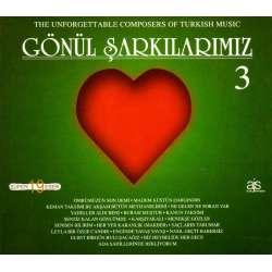 GÖNÜL ŞARKILARIMIZ 3 TÜRK SANAT MÜZİĞİ  ORİJİNAL CD