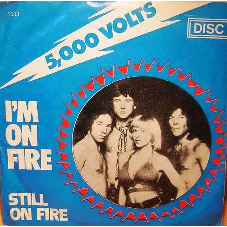 5000 VOLTS IM ON FIRE  STILL ON FIRE