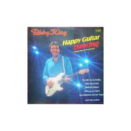 RICKY KING HAPPY GUITAR DANCING 1982 LP.