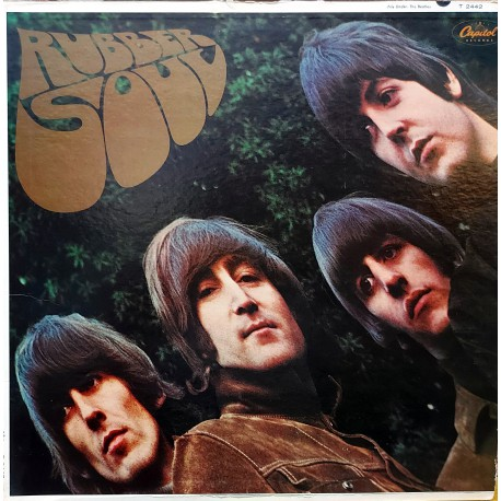 THE BEATLES RUBBER SOUL LP. 1966 USA ORİJİNAL BASKI