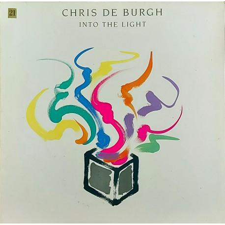 CHRIS DE BURGH INTO THE LIGHT 1986 LP.