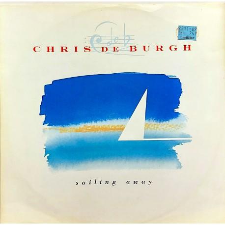 """CHRIS DE BURGH SAILING AWAY, MAXI SINGLE 12"""""""