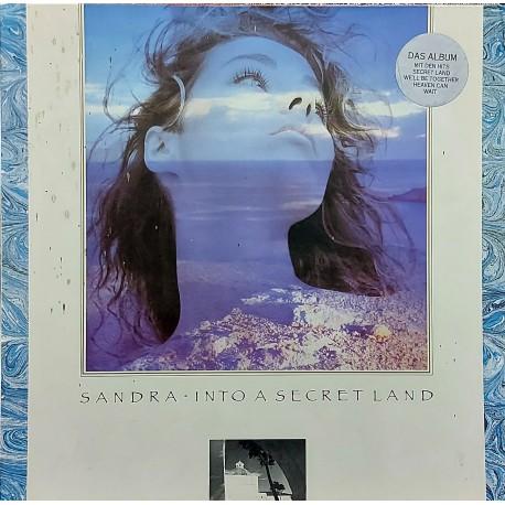 SANDRA INTO A SECRET LAND 1988 LP.