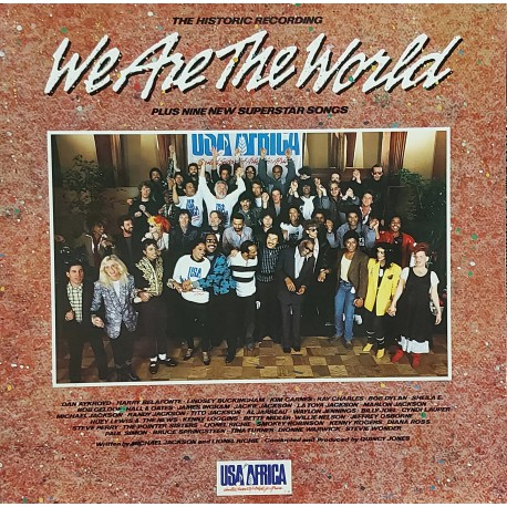 USA FOR AFRICA WE ARE THE WORLD KARMA LP