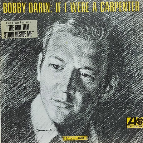 BOBBY DARIN IF I WERE A CARPENTER 1966 LP.