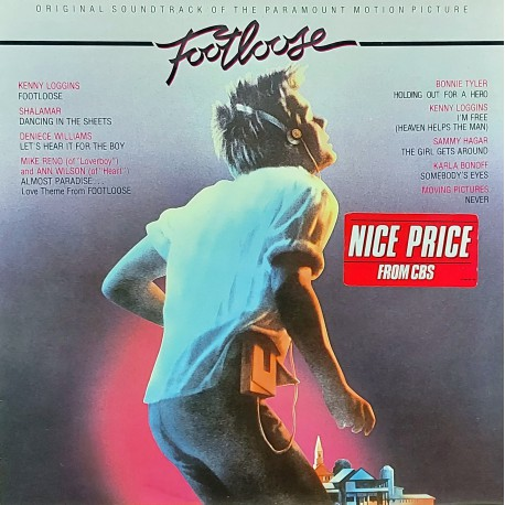 FOOTLOOSE ORIGINAL MOTION PICTURE SOUNDTRACK 1986 LP.