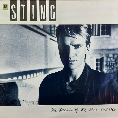 STING THE DREAM OF THE TURTLES 1985 LP.
