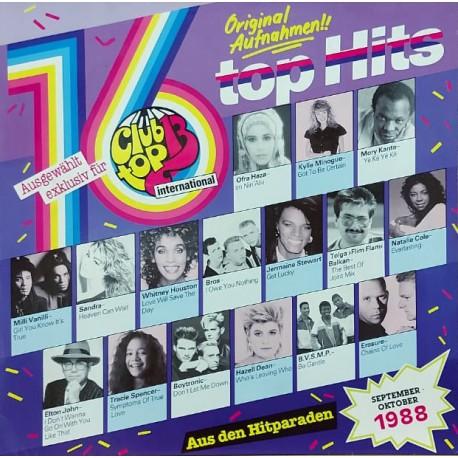 CLUB TOP 13 INTERNATIONAL SEPTEMBER-OKTOBER 1988, 80'ler KARMA LP.