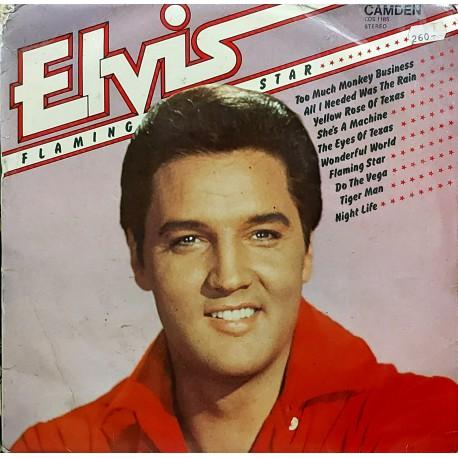 ELVIS PRESLEY FLAMINGO STAR 1980 LP.