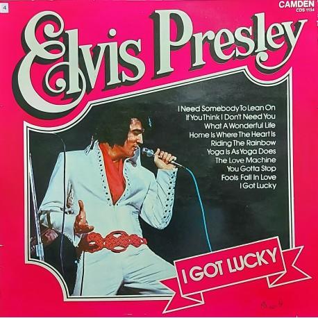 ELVIS PRESLEYI GOT LUCKY 1971 LP.