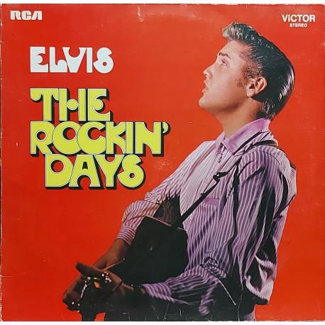 ELVIS PRESLEY THE ROCKIN' DAYS 1968 LP.