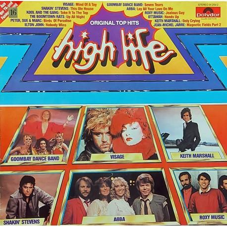 HIGH LIFE ORIGINAL TOP HITS 1981, 80'ler KARMA LP.